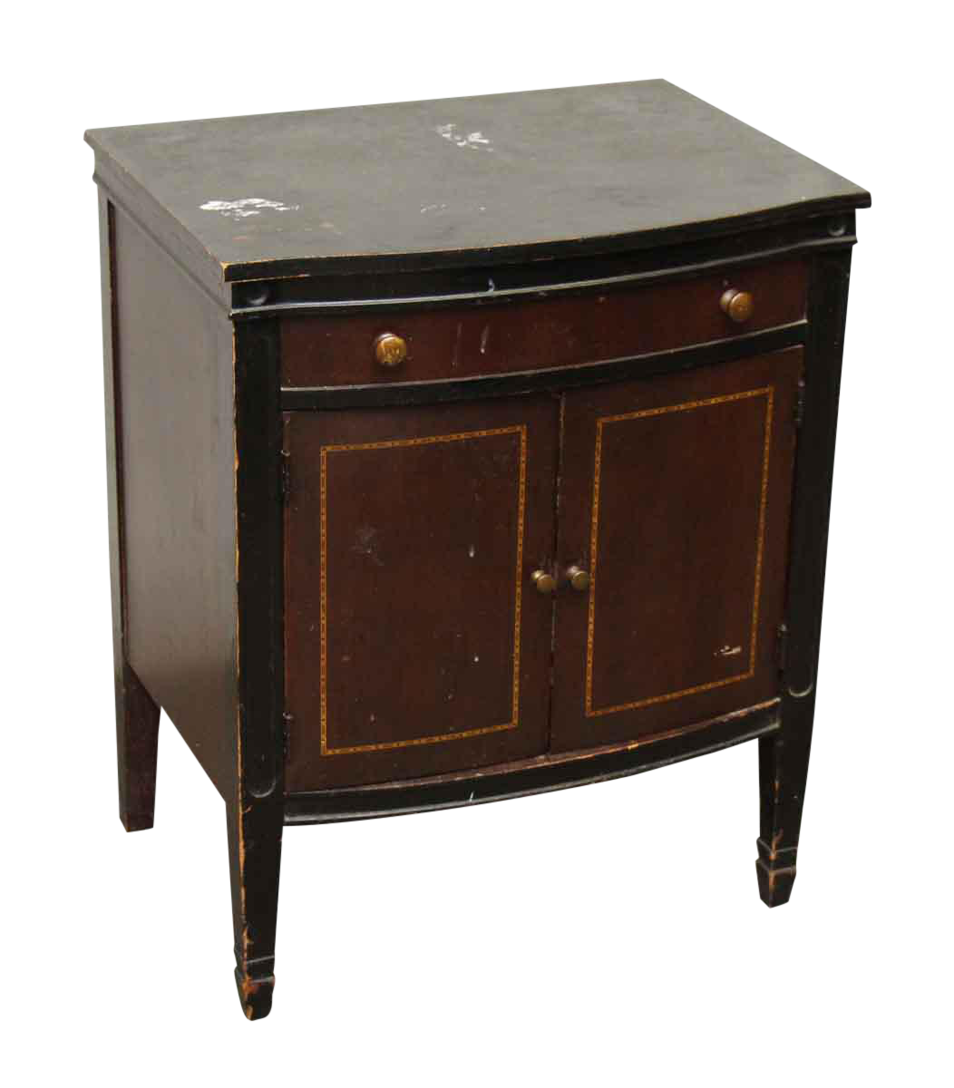 Small Wooden Side Table | Chairish
