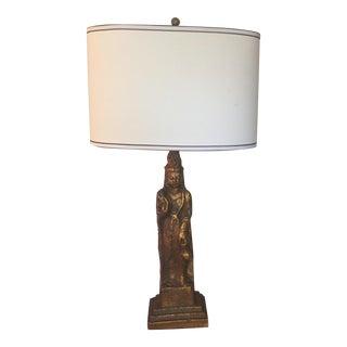 Vintage Thai Princess Table Lamp
