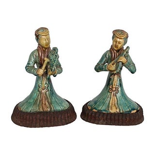 Antique Chinese Figures - Pair