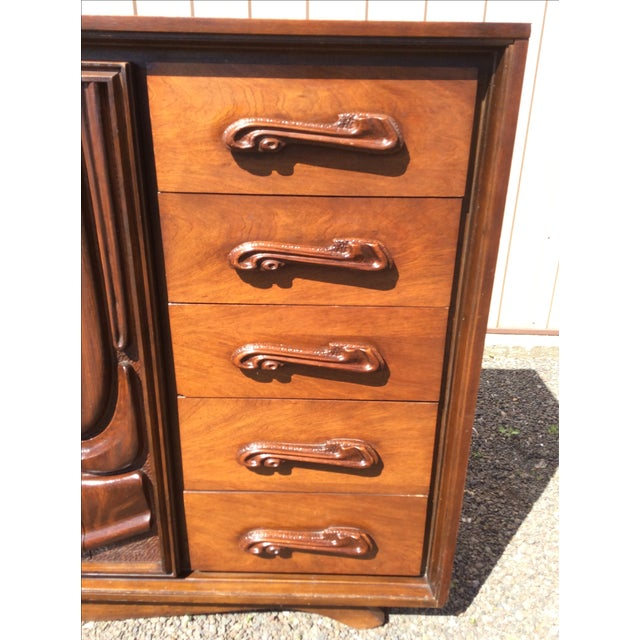 Witco Oceanic Style Brutalist Dresser - Image 9 of 11