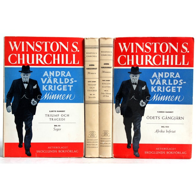 Churchill's Second World War Memoirs - Set of 4 - Image 2 of 3