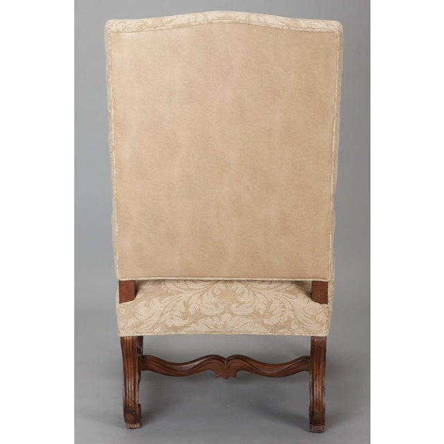 Antique Os Du Mouton Carved Armchairs - A Pair - Image 7 of 9