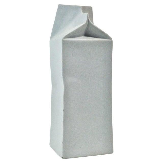 Image of Rosenthal Studio Line Porcelain Milk Carton Vase