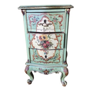 French-Style Side Table With Drawers