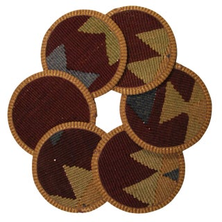 Kilim Coasters Set of 6 - Minne