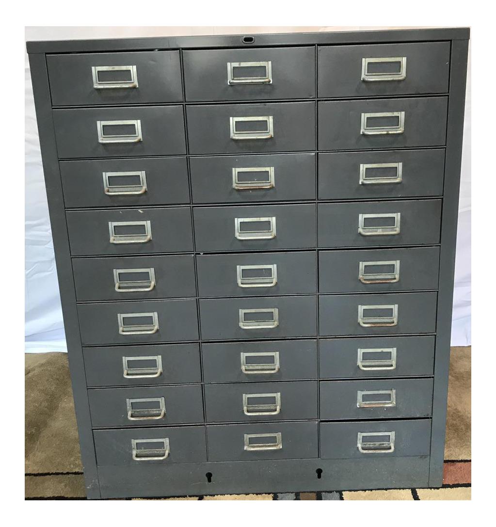used industrial furniture. vintage industrial 27drawer storage unit used furniture i