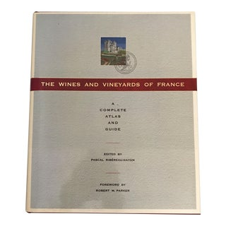 """""""The Wines and Vineyards of France"""" Book"""
