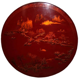 Chinese Lacquer Piece
