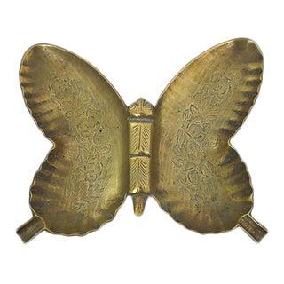 Brass Butterfly Ashtray