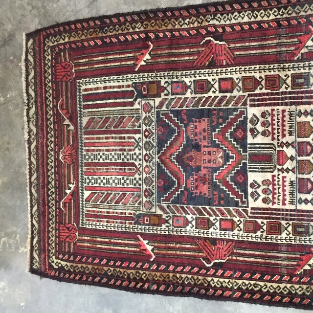 "Turkaman Persian Rug, 2'5"" x 4'1"" - Image 3 of 8"