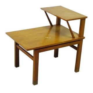 Dunbar Mid-Century Step Side Table