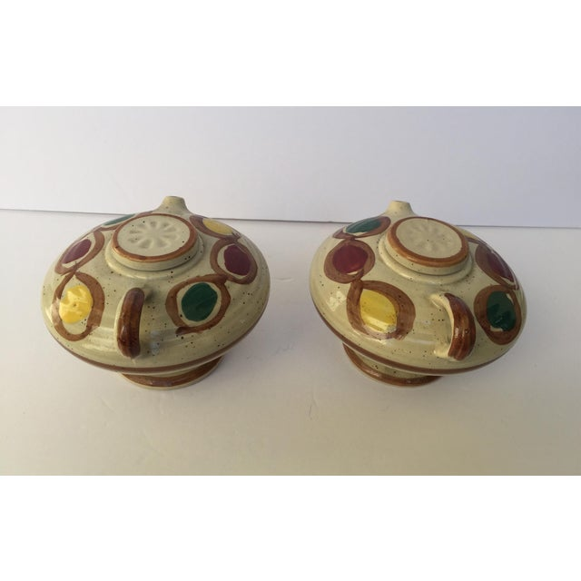 Image of Vintage Japanese Sauce Containers - A Pair