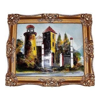 Reverse-Painted Glass Art