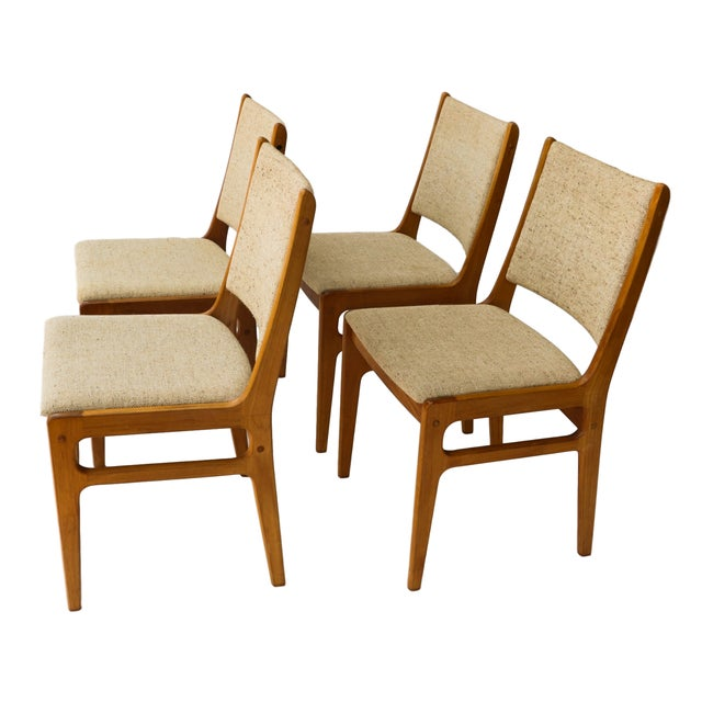 Vintage D-Scan Danish Teak Chairs - Set of 4 - Image 5 of 10