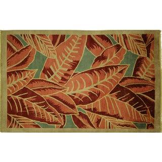 Tropical & Floral Multicolor Gabbeh - 6' x 9'