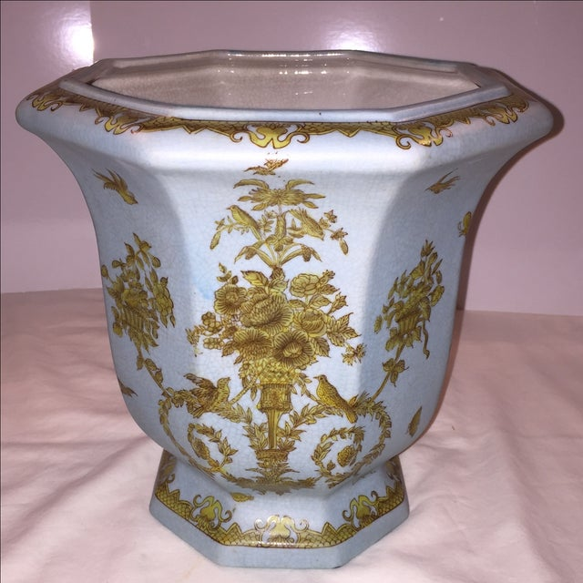 Chinese Octagonal Porcelain Planter - Image 2 of 6
