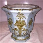 Image of Chinese Octagonal Porcelain Planter