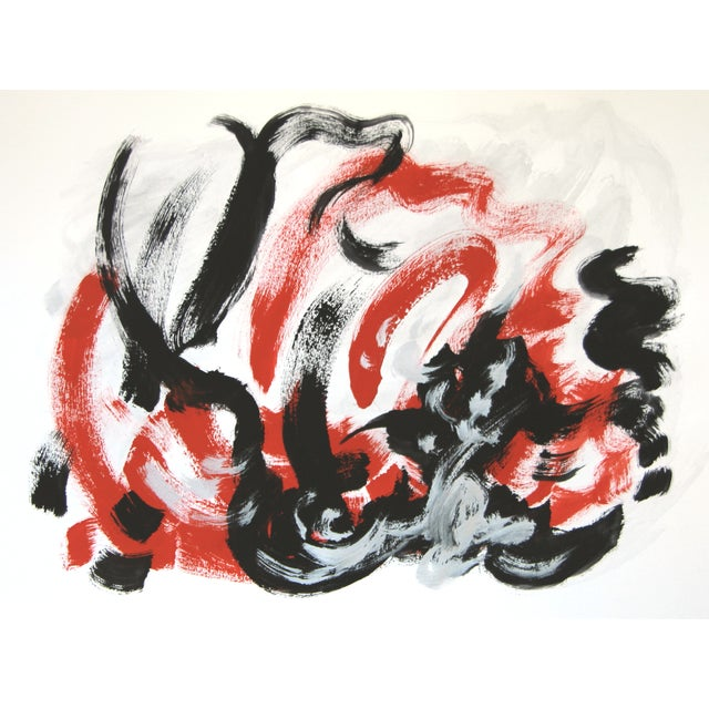 """""""Passion Flip #1"""" Abstract Painting by Cleo - Image 1 of 2"""