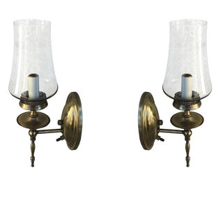 Thomas Industries Mid-Century Brass Sconces - A Pair