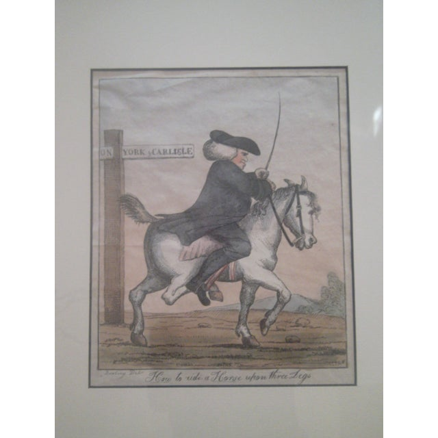 Image of Henry W.Bunbury Late 18th Century Caricature