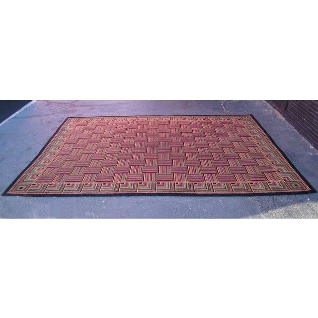 "Basket Weave Pattern Rug - 8'8"" x 10'3"" - Image 2 of 6"