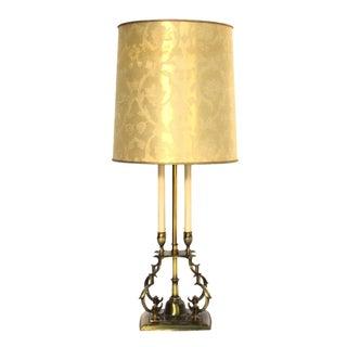 Vintage 1970s Stiffel Brass Lamp