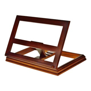 Vintage Mahogany Wood Book Stand by Drexel