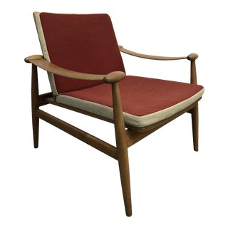 "1950's Model 133 ""Spade"" lounge chair by Finn Juhl"