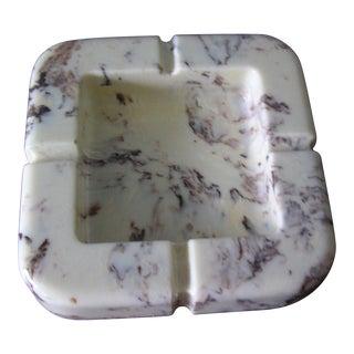 Vintage Square Marble Ashtray