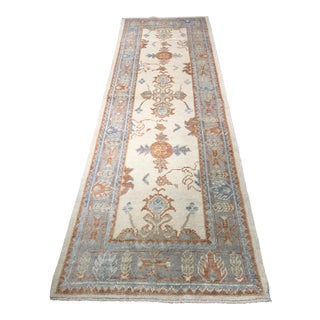 Bellwether Rugs Vintage Turkish Oushak Runner - 3'x9'6""