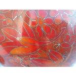 Image of Vintage Cloisonne Vase - Pair