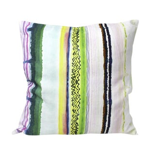 Emerald Drip Pillow
