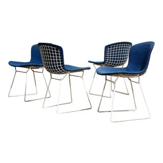 Bertoia Wire Chairs - Set of 4