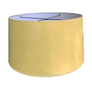 Vintage Yellow High Gloss Drum Shade