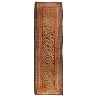 Early 20th Century Qazvin Kilim Runner