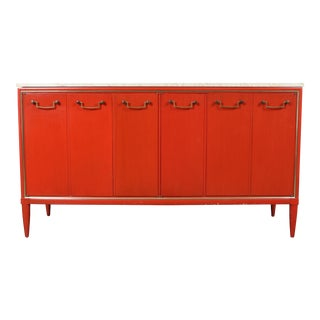 Vintage Orange Buffet