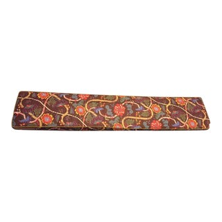 Josef Frank Textile Custom Bench Cushion