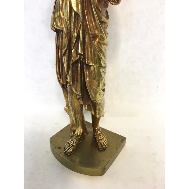 Bronze Neoclassical Grand Tour Statue - Image 8 of 8