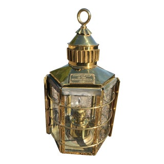 Nautical Clipper Ship Lantern
