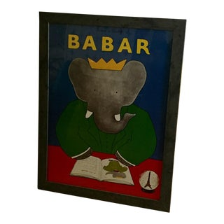 Babar The Elephant Framed Poster