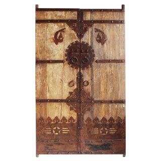 Antique Chinese Elm Door