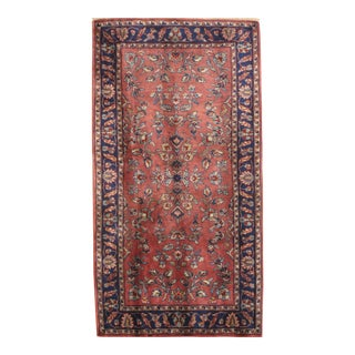 "Pasargad NY Sarouk Design Hand Knotted Rug - 2'4"" X 4'5"""