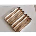 Image of Silver Plated Cigar Case