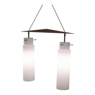 Ceiling Lamp With White Diffusers