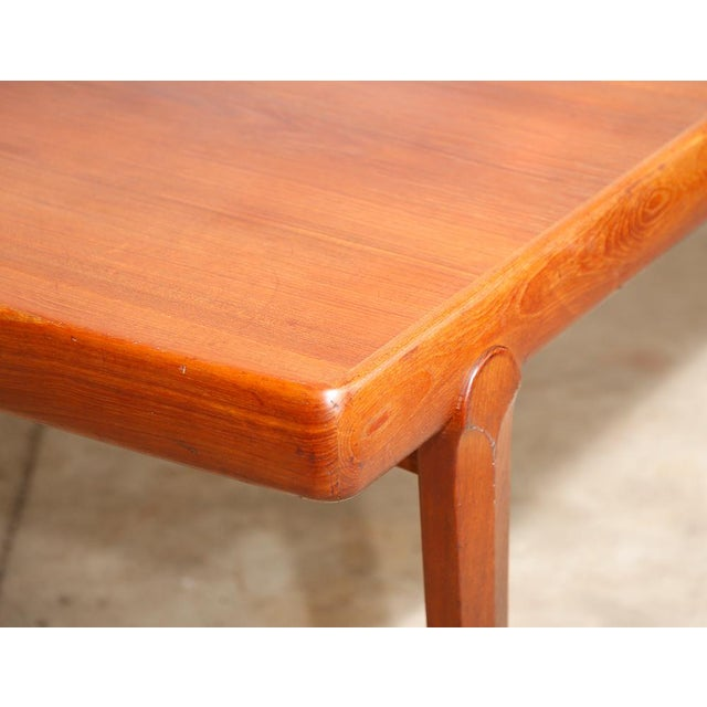 Danish Modern Dining Table - Image 4 of 11