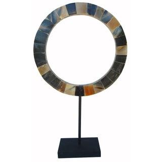 Infinity - Horn Inlaid Ob'jet de Art