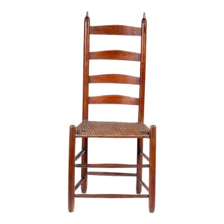 Ca. 1830 Shaker Slat-Back Chair