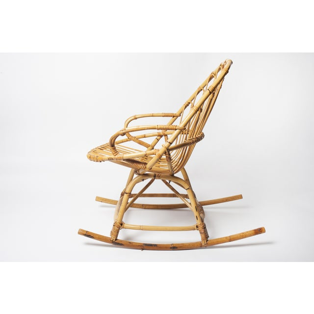 Child's Rattan Rocking Chair - Image 2 of 4