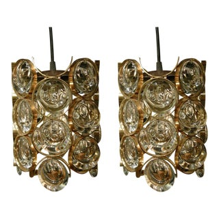 Palwa Cylindrical Pendants - a Pair