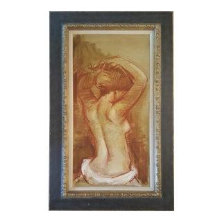 Jan De Ruth Female Nude Painting